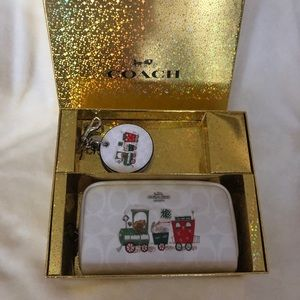 Coach Cosmetic Case and Bag Charm